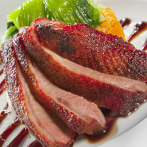 prepared duck and turkey duck breast