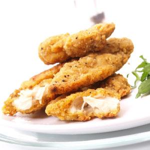 starters buffet southern fried goujons