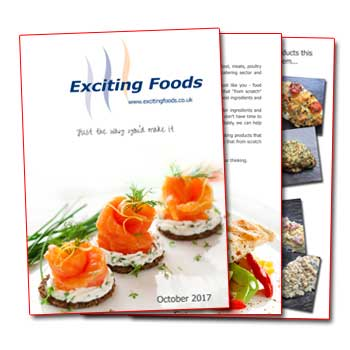 exciting foods brochure
